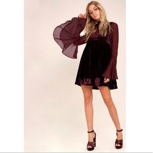 Free People Counting Stars Minidress